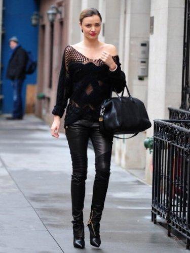 Celebrity Sightings In New York City - December 19, 2013