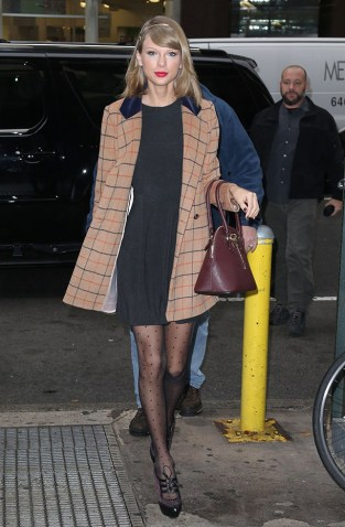 Singer Taylor Swift on November 12, 2014 in New York City, New York